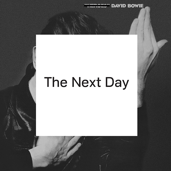 Album cover for 'The Next Day' by David Bowie