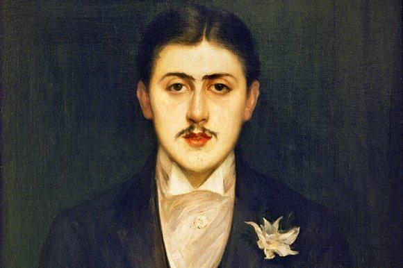 Proust, portait by Jacques Emile Blanche