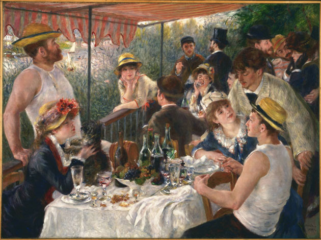 Renoir Boating Party Luncheon