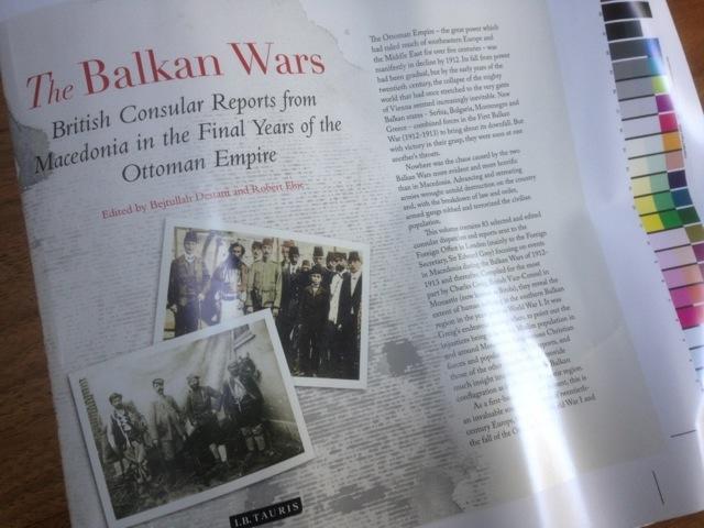 Balkan Wars Cover
